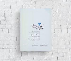 Thüringer Gründerpreis 3. Platz Urkunde von Juliane Knabe und Philip Dedekind